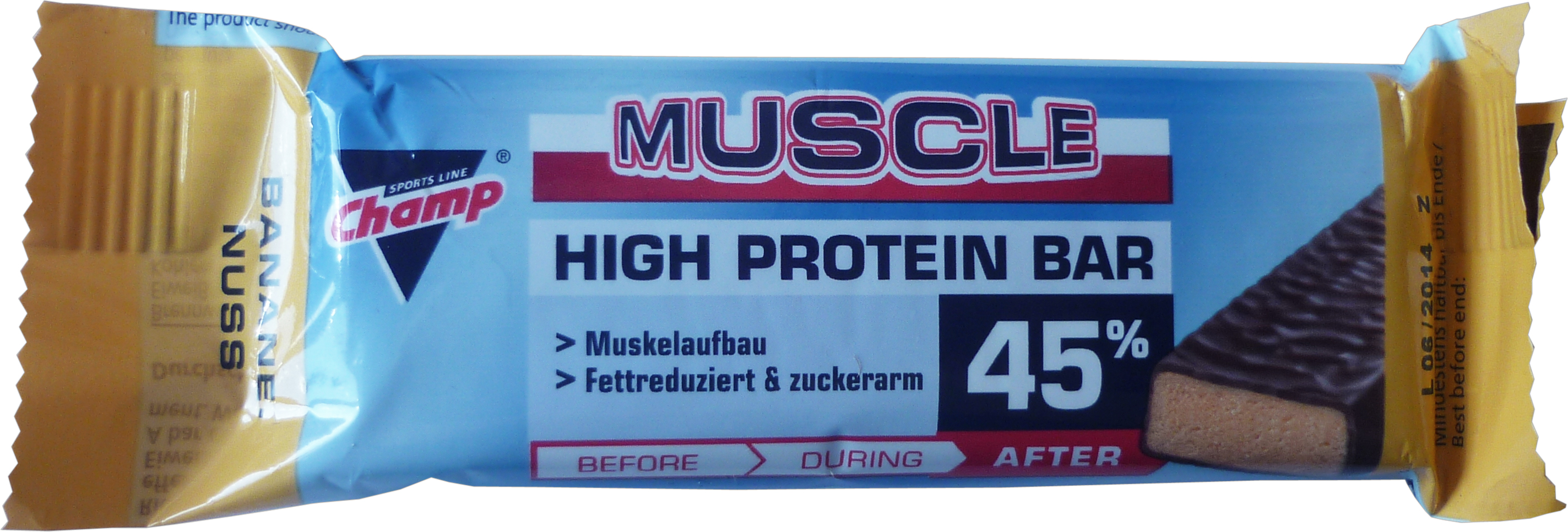 Champ Muscle 45 - Banane-Nuss