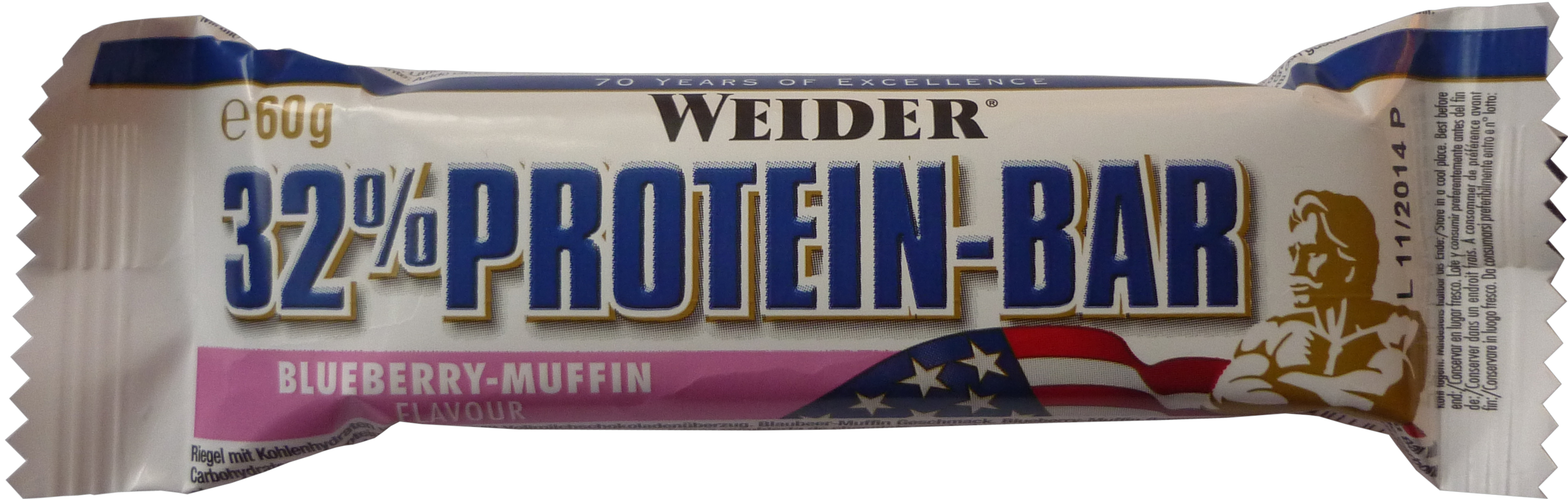 Weider - Blueberry-Muffin