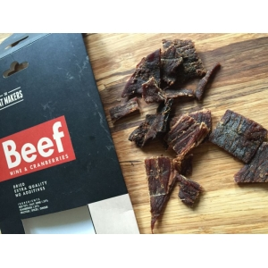 The Meat Makers Beef Jerky - Wine & Cranberries
